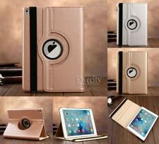 Luxury Bling Folio 360 Rotating Stand PU Leather Smart Case Cover For Apple iPad