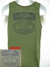 AIRBORNE COMBAT MEDIC BADGE T-SHIRT TANK TOP/ MILITARY/ ARMY/ NEW