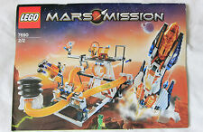 LEGO 7690 MARS MISSION (MB-01 Eagle Command Base Instruction Book 2/2 NO BRICKS