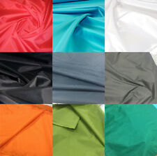 "2oz Thin WATERPROOF NYLON FABRIC PU COATED Material 59"" Wide Sold By 1-10 Metres"