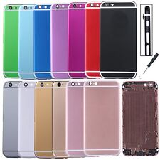 """Metal Back Battery Door Cover Housing Multicolor For Iphone 6s 4.7"""" Repair parts"""