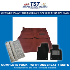 MOULDED CAR CARPETS (J03) CHRYSLER VALIANT R&S SERIES AP5 AP6 VC 60-67 PACKAGE 2