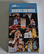 """""""March Of The Tar Heels: The Official 1993 NCAA Championship Video"""" (VHS)"""