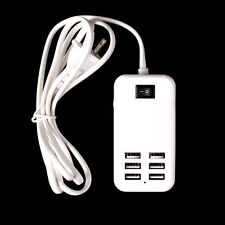 30W 6/4 Port USB EU Wall Charger Power Adapter For iPhone Universal Phone Tablet