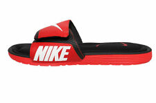 Nike Men's Solarsoft Comfort Slide Sandals 705513-610 Red Black flip flops