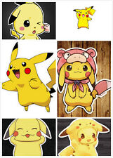 "6"" POKEMON GO Pokemon Pikachu Anime Car Window Decal Cute"