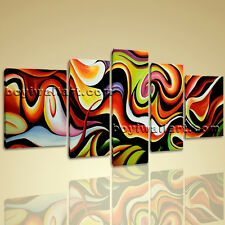 Large Contemporary Wall Art Print On Canvas Abstract Painting Home Room Decor