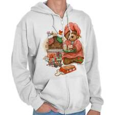 Christmas Eve Teddy Cookies For Santa Funny Shirts Gift Ideas Zipper Hoodie
