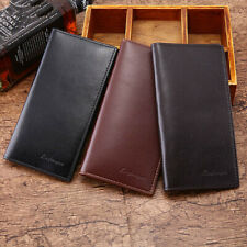 Men Genuine Leather Bifold Wallet ID Credit Card Holder Coin Purse Clutch Bag
