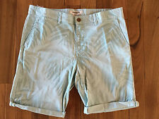 100% AUTHENTIC MENS QUIKSILVER KRANDY CHINO PRINT WALK SHORTS 36