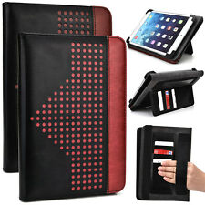 7 inch Patent Leather Protective Tablet Folding Case Cover & Stand MUEP-5