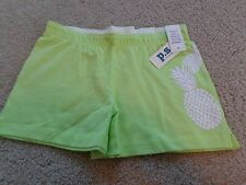 aeropostale kids' activate sparkle pinepple knit shorty shorts  NWT