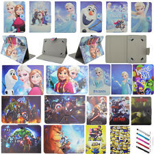 Cute Kids Durable Flip Stand Case Cover PU Leather For Universal 7/8/10'' Tablet