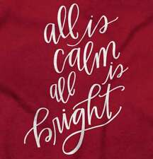 All is Calm Best Seller Funny Christmas Shirt Gift Ideas Humor Youth T-Shirt