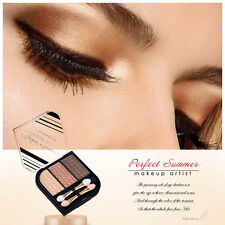 3 colors  Natural  Makeup Eyeshadow Palette Cosmetics Glitter Shimmer Eye Shadow