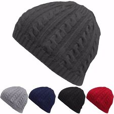 Men Women Knit Baggy Beanie Oversize Winter Hat Ski Slouchy Chic Hip-hop Cap New