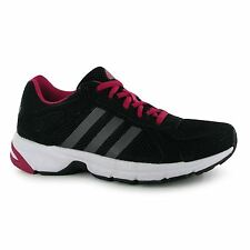 Adidas Duramo 55 Running Shoes Womens Black/Pink Run Fitness Trainers Sneakers