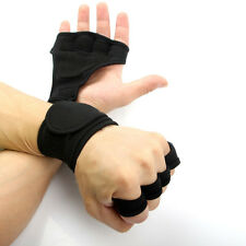 Fitness Gloves Weight Lifting Gym Training Wrist Wrap Strap Unisex US Location