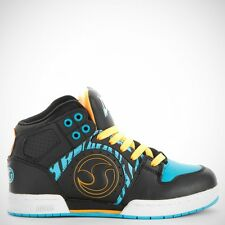 Dvs Aces High Black/Blue Animal Skate Shoe