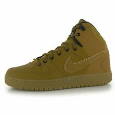 Nike Force Mid Winter Trainers Mens Wheat/Wheat Casual Sneakers Shoes Footwear