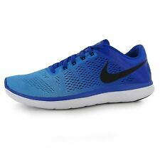 Nike Flex 2016 Running Shoes Mens Blue/Black Fitness Sports Trainers Sneakers