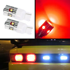 T20 CREE 25W Hi-Power Chip Reverse Brake Turn Signal Blinker LED Bulbs (Red)