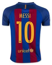NIKE LIONEL MESSI FC BARCELONA HOME YOUTH JERSEY 2016/17