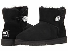 UGG Australia Mini Bailey Button Bling Boots - Swarovski Crystals - Size 7 - 10