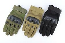 Tactical Military Tranining Outdoor Sport Motorcycle Armed Full Finger Gloves