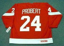 BOB PROBERT Detroit Red Wings 1993 CCM Throwback Away NHL Hockey Jersey