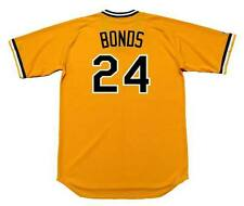 BARRY BONDS Pittsburgh Pirates Majestic Cooperstown Home Baseball Jersey