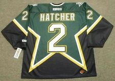 DERIAN HATCHER Dallas Stars 1999 CCM Throwback Away NHL Hockey Jersey