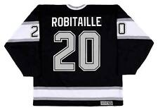 LUC ROBITAILLE Los Angeles Kings 1993 CCM Vintage Away NHL Hockey Jersey