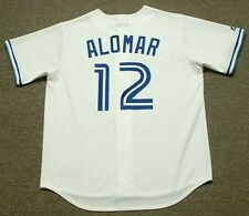ROBERTO ALOMAR Toronto Blue Jays 1992 Majestic Cooperstown Home Baseball Jersey