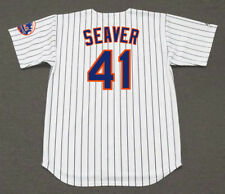 TOM SEAVER New York Mets 1969 Majestic Cooperstown Home Baseball Jersey