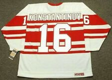 VLADIMIR KONSTANTINOV Detroit Red Wings 1992 CCM Vintage NHL Hockey Jersey