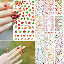Wholesale 2pcs Nail Art Decoration Water Transfer Manicure Tips Decals Stickers
