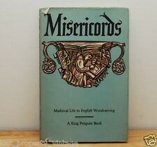 King Penguin Misericords MD Anderson 72 Medieval Life in English Woodcarving