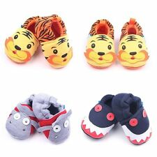 Cute Animal Decor Baby Infant Girls Boys Toddler Autumn Winter Warm Shoes 0-12M