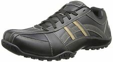 Skechers 64455BLK USA Mens Citywalk Malton Oxford Lace Up Casual Black Brand New