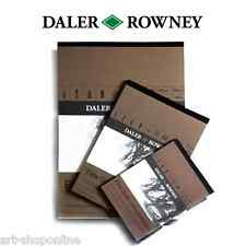 Daler Rowney Fine Grain Heavyweight Drawing Sketching Pad A3 A4 A5 200gsm