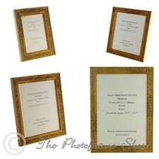 "Ornate Distressed Gold Shabby & Chic Vintage Picture Frame 7""x5""-16""x12"""