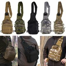Outdoor Molle Sling Military Shoulder Tactical Backpack Camping Travel Bags DP