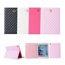 For iPad 2/3/4/Air Case Luxury Crown Flip Stand Leather Smart Folio Case Cover