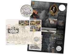 2016 The Great Fire of London £2 Coin Cover bunc mint stamps PRE ORDER