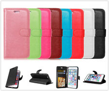 Luxury Card Wallet For Samsung Galaxy Magnetic Flip Leather Case TPU Cover Pouch