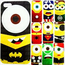 Awesome Superhero Minion Custom Hard Phone Case Character from Avengers Dc Comic
