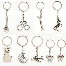 New Creative Metal Keychain  Key Ring Key Chain Key 12 Pattern Choose Decor FM