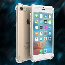 Soft TPU Protective Cases Transparent Flexible Cover for iPhone Samsung Xiaomi