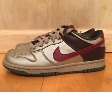 VINTAGE NIKE DUNK LOW ZINK GREEN RED WOMENS WMNS 2006 SZ 7-8.5   309324-062 A